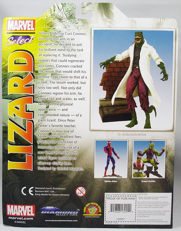 Marvel Select - Lizard (1)