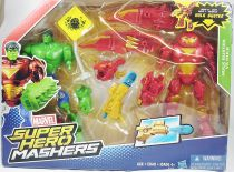 Marvel Super Hero Mashers - Hulk Buster Iron Man & Hulk