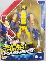 """Marvel Super Hero Mashers - Wolverine \""""blue & yellow costume\"""""""
