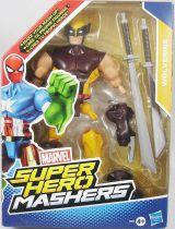 """Marvel Super Hero Mashers - Wolverine \""""brown & yellow costume\"""""""