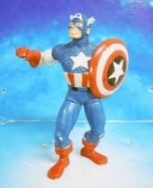 Marvel Super-Heroes - Comics Spain PVC Figure - Captain America