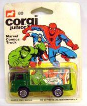 Marvel Super-Heroes - Corgi Junior ref. 80 - Marvel Comics Truck (Mint on Card)