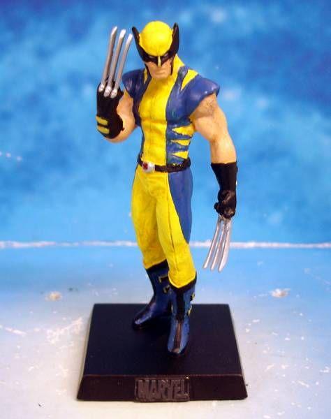 Marvel Super Heroes - Eaglemoss - #002 Wolverine (Serval)