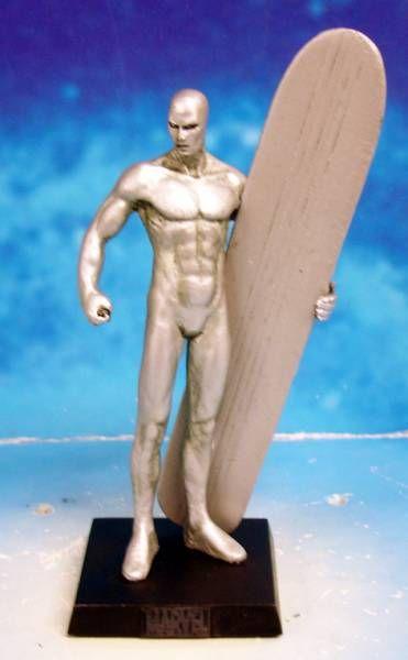Marvel Super Heroes - Eaglemoss - #007 Silver Surfer (Le Surfeur d\'Argent)