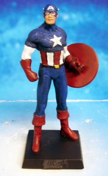 Marvel Super Heroes - Eaglemoss - #009 Captain America