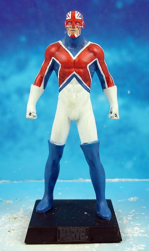Marvel Super Heroes - Eaglemoss - #021 Captain Britain