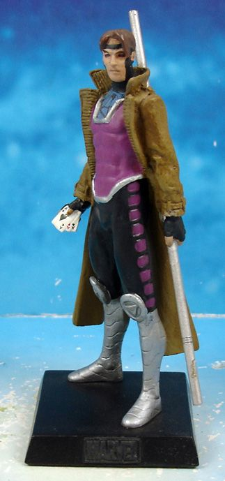 Marvel Super Heroes - Eaglemoss - #035 Gambit