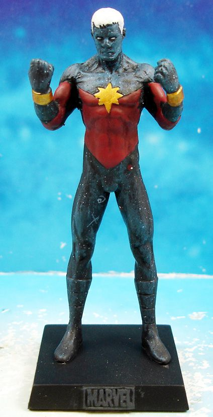 Marvel Super Heroes - Eaglemoss - #046 Captain Marvel Genis-Vell