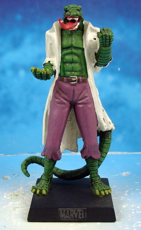 Marvel Super Heroes - Eaglemoss - #052 The Lizard (Le Lézard)