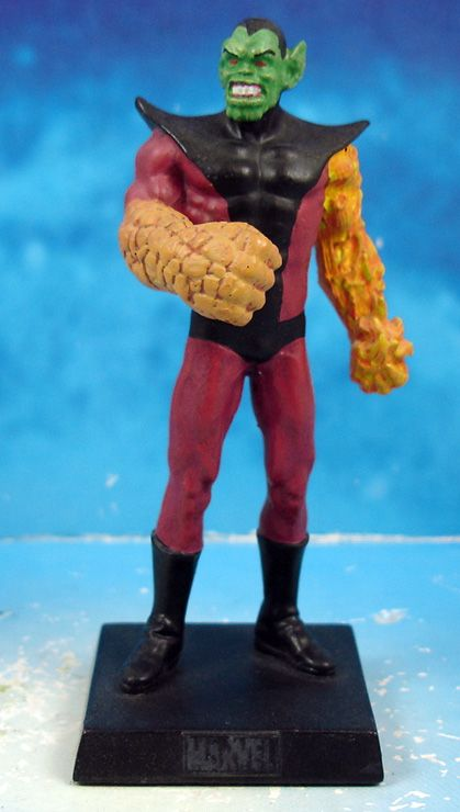 Marvel Super Heroes - Eaglemoss - #060 Super Skrull