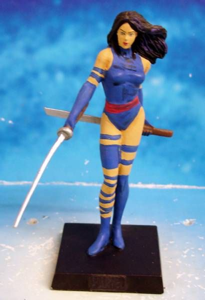 Marvel Super Heroes - Eaglemoss - #066 Psylocke
