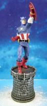 Marvel Super Heroes - Eaglemoss - Chess Collection #006 Captain America