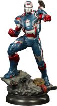 Marvel Super Heroes - Sideshow Collectibles -  Iron Patriot Quarter Scale Maquette