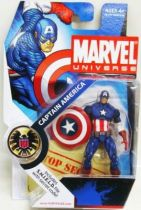 Marvel Universe - #1-012 - Captain America