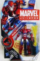 Marvel Universe - #2-019 - Iron Patriot (unmasked variant)