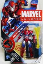 Marvel Universe - #2-019 - Iron Patriot (unmasked variant)