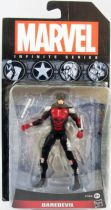 "Marvel Universe - Infinite Series 1 - Daredevil \""black costume\"""