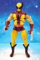 "Marvel Universe - Wolverine \""brown costume\"" (loose)"