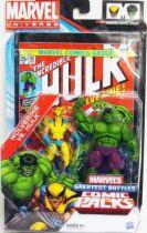 Marvel Universe Comic Pack - The Incredible Hulk #181 - Wolverine & Hulk