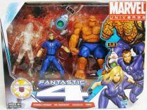 Marvel Universe Multi-Pack - Fantastic Four :  Invisible Woman (clear), Mr. Fantastic, H.E.R.B.I.E., Thing