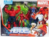 Marvel Universe Multi-Pack - Heroic Age Heroes : Red Hulk, Iron Man, Thor