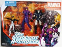 Marvel Universe Multi-Pack - The West Coast Avengers : Mockingbird, Hawkeye, War Machine