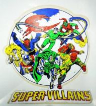 Marvel Vintage - Large Size Sticker - Super-Villains