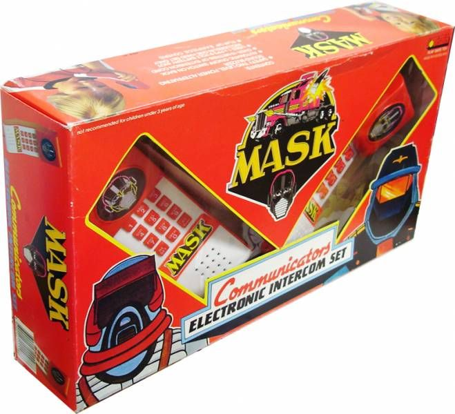 M.A.S.K. - Communicators Electronic Intercom Set - Kenner Jotastar