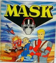 M.A.S.K. - Panini Stickers collector book