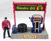 M.A.S.K. - Pit Stop Catapult with Sly Rax (loose)