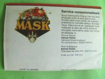 M.A.S.K. - Poster Catalogue - Kenner