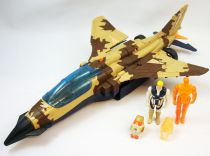 M.A.S.K. - Skybolt with Matt Trakker & Hologram (loose with box)