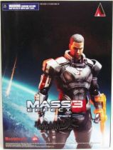 Mass Effect 3 - Commander Shepard - Figurine Play Arts Kai - Square Enix