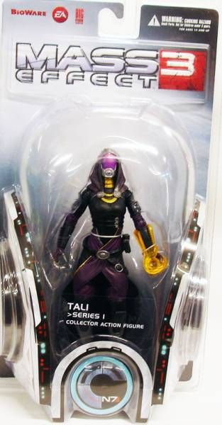 mass effect 3 tali collector action figure big fish toys