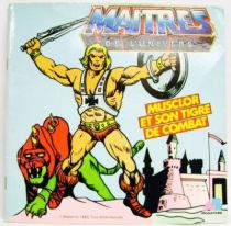 Masters of the Universe - 45T Record-Book - AB Production - \'\'He-Man & Battle-cat\'\'