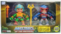 """Masters of the Universe - Action-vinyl - Man-At-Arms & Stratos \""""Toy Color Edition\"""" - The Loyal Subjects"""