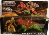 Masters of the Universe - Battle Armor He-Man & Battle Cat gift-set (USA box)