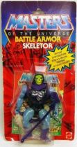 Masters of the Universe - Battle Armor Skeletor (USA card)