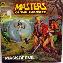 Masters of the Universe - Book - Golden - \\\'\\\'Mask of Evil\\\'\\\'