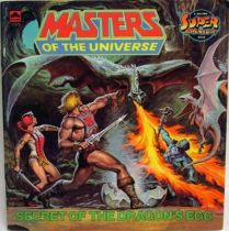 Masters of the Universe - Book - Golden - \\\'\\\'Secret of the Dragon\\\'s Egg\\\'\\\'