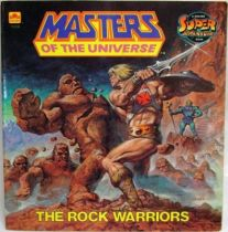 Masters of the Universe - Book - Golden - \'\'The Rock Warriors\'\'