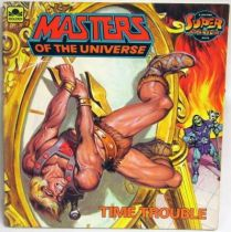 Masters of the Universe - Book - Golden - \'\'Time Trouble\'\'