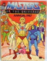 Masters of the Universe - Book - World International Publishing - Masters of the Universe Annual 1987