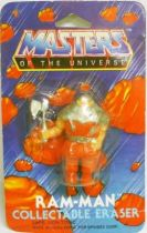 Masters of the Universe - Eraser figure - Ram-Man (Mint on card)