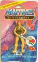 Masters of the Universe - Eraser figure - Teela (mint on card)