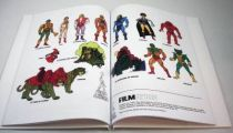 Masters of the Universe - Filmation bible & style guide (french language))