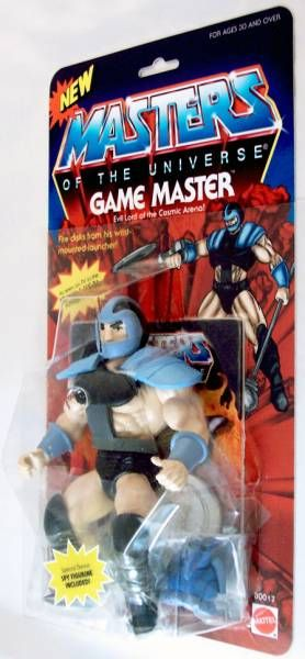 Masters of the Universe - Game Master (USA card) - Barbarossa Art