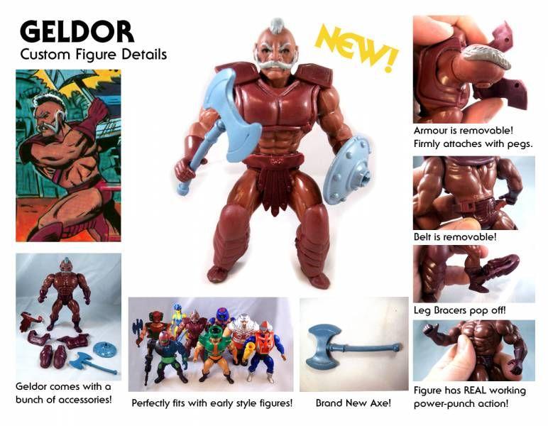 Masters of the Universe - Geldor / Gueldor (carte USA) - Barbarossa Art