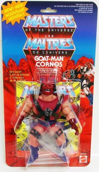 Masters of the Universe - Goat-Man / Cornos (carte Europe) - Barbarossa Art