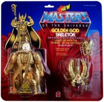 Masters of the Universe - Golden God Skeletor / Skeletor Tout Puissant (carte USA) - Barbarossa Art